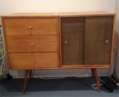 Mid-century Paul McCobb storage cabinet needs a facelift (Reader photo)