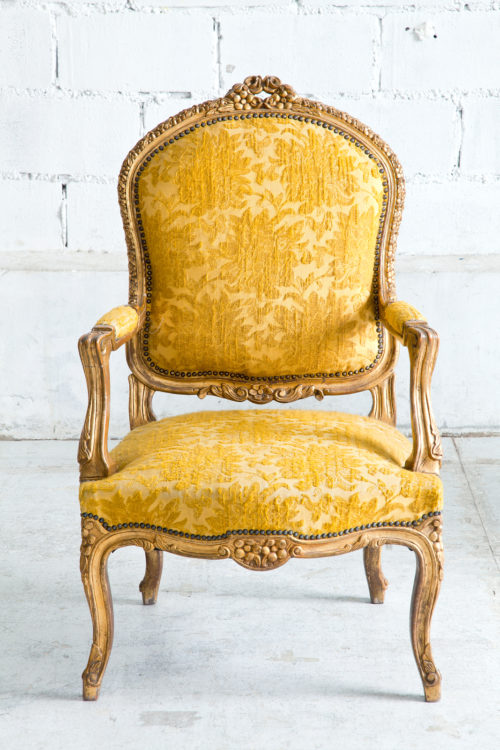 Beautiful antique upholstered chair