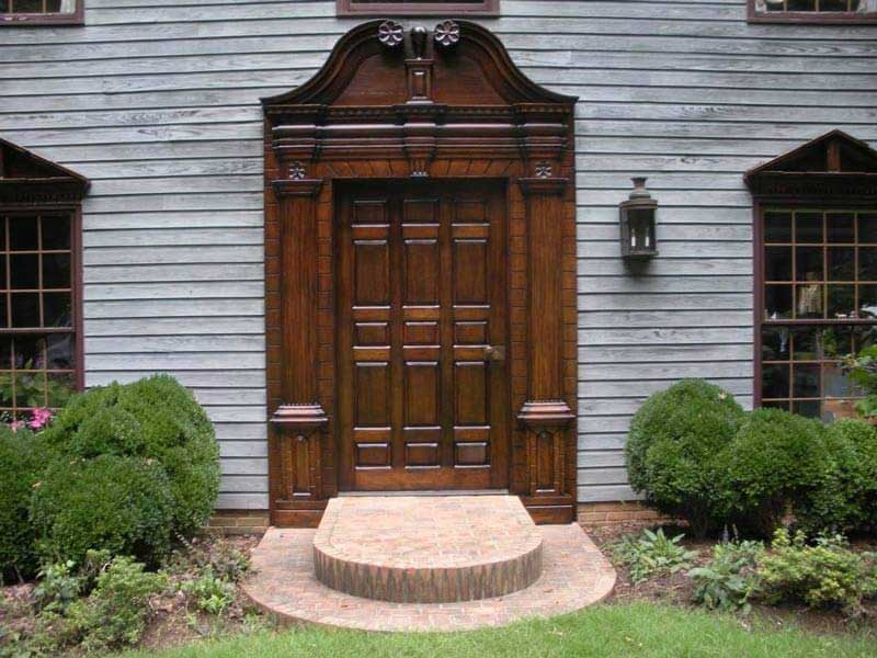 Refinished American Colonial exterior door