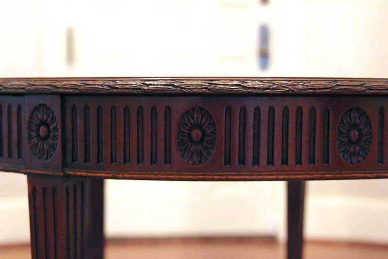 Refinished Antique Side Table