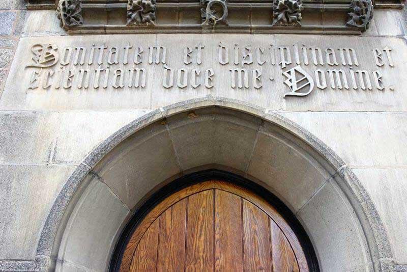Historic Exterior Door
