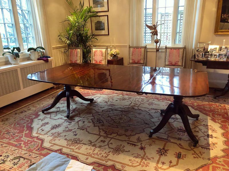 Dining-Table---French-Polished