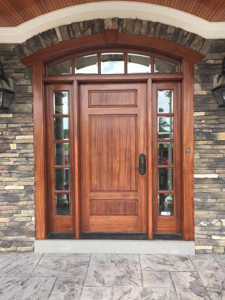 Photo of exterior door